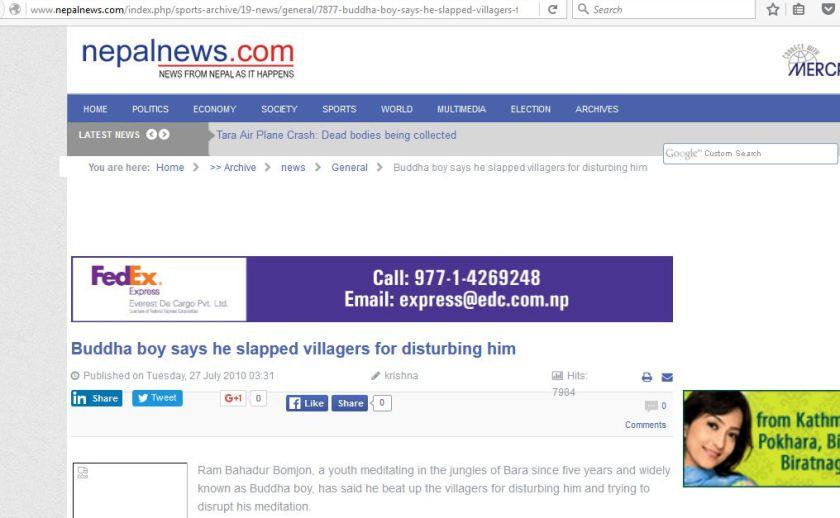 nepalnews slapped villagers 17